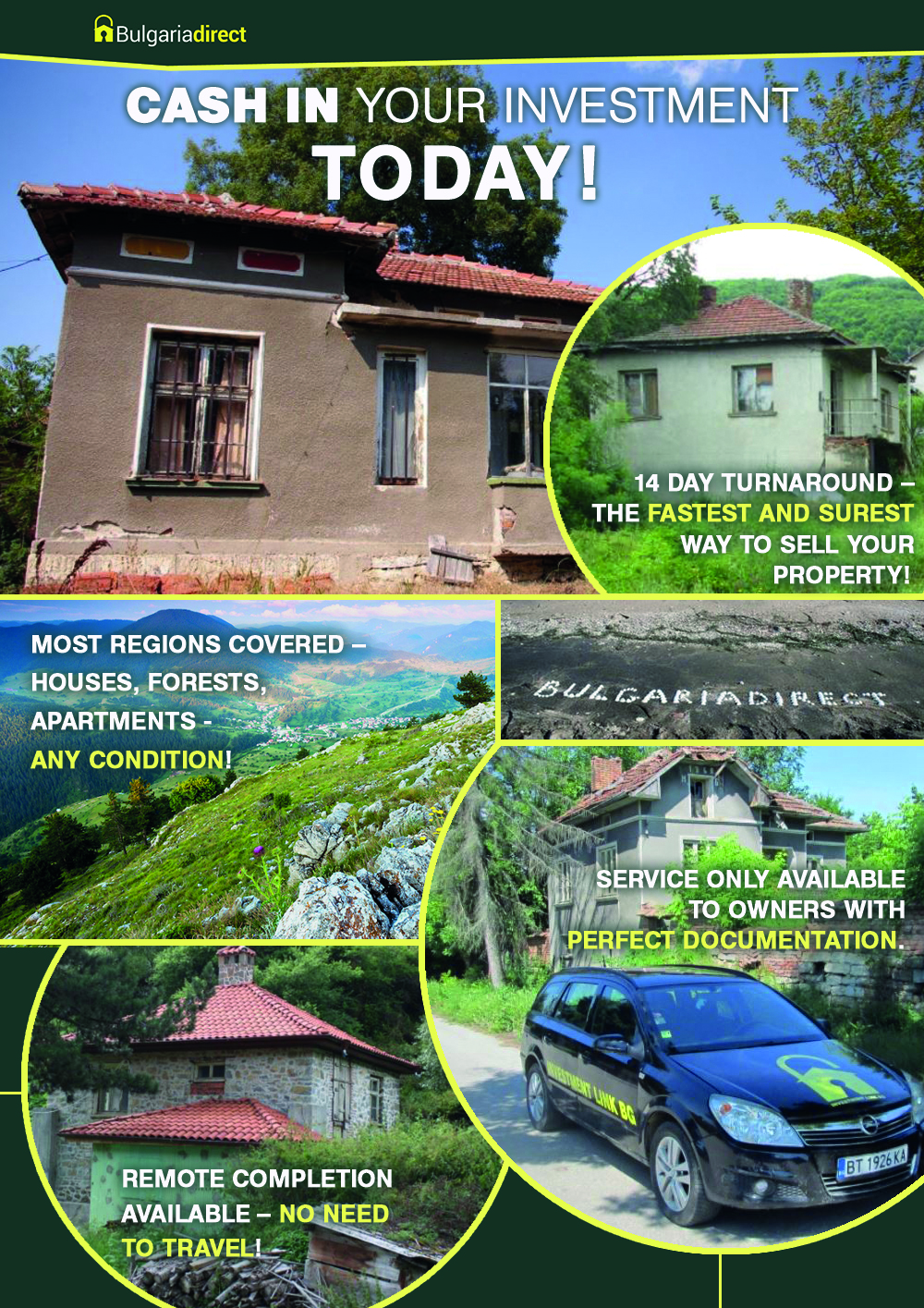 Sell Bulgarian Property Fast